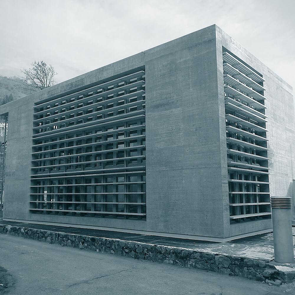 Cavigelli Ingenieure AG | Neubau Bürogebäude, Statik, Bemessung, Ausführungsplanung und Baukontrollen