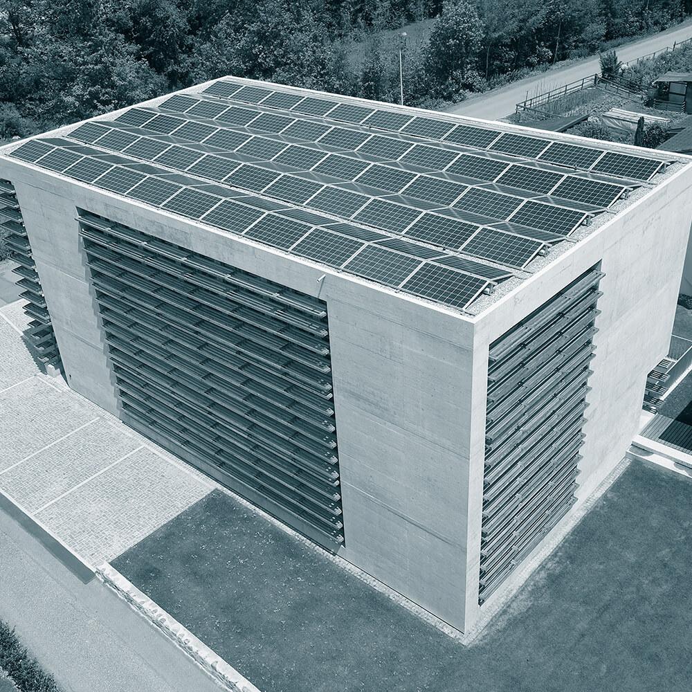 Ilanz Solaranlage | Drohnenvermessung